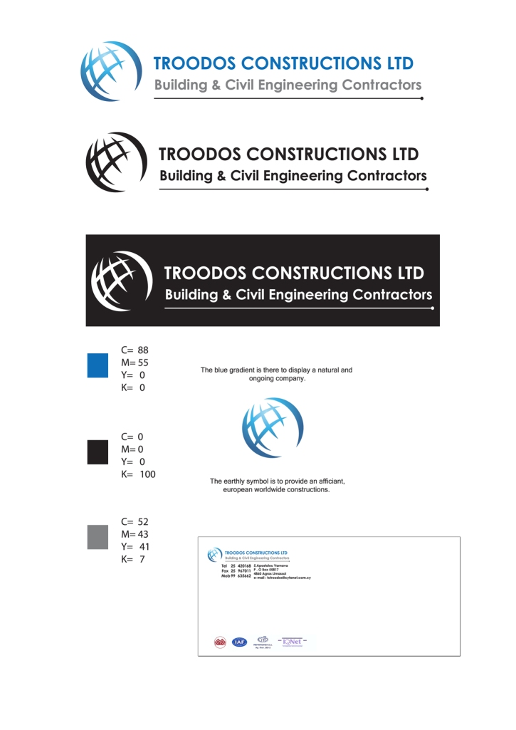 Troodos Construction Logo